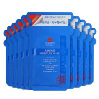 韩国直邮 LEADERS丽得姿 美帝优超强补水面膜 10片 海外购