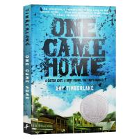 正版 寻找阿加莎 英文原版小说 One Came Home 回家 英文版进口儿童文学小说 纽伯瑞银奖 可搭阿比琳的夏天