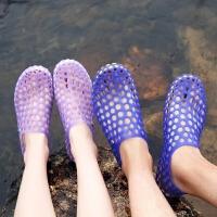 夏季速干溯溪鞋男透气水陆两用涉水鞋防滑游泳鞋女亲子鞋沙滩鞋女