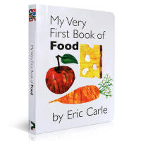 Eric Carle: My Very First Book of Food 我的第一本食品书(卡板书)