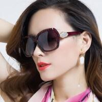 欧美风女士复古长脸优雅眼镜 大框圆脸墨镜女潮个性新款近视太阳镜女