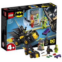 【当当自营】乐高(LEGO)积木 超级英雄系列 玩具礼物 蝙蝠侠之谜语人银行劫案 76137
