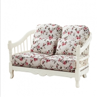 实木布艺沙发 1+2+3组合沙发套装 客厅成套家具 韩式田园沙发#43 其他