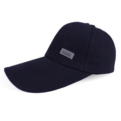 秋冬季帽子男士韩版潮户外运动棒球帽保暖棉鸭舌帽遮阳帽 品质保证 售后无忧 支持礼品卡付款