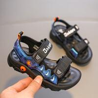 【1件8折价:79元】芭芭鸭儿童凉鞋中大童沙滩鞋男童宝宝鞋软底防滑2020夏季新款透气