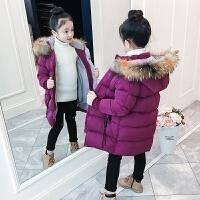 韩版童装小女孩棉袄加厚羽绒冬女童冬装棉衣儿童外套
