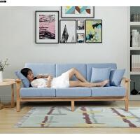 实木沙发组合客厅现代简约新中式具榉木布艺沙发北欧实木沙发 其他
