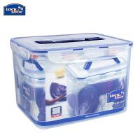 乐扣乐扣HPL886 手柄10L长方形 大号保鲜盒 塑料密封储物箱