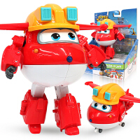 奥迪双钻超级飞侠玩具大号变形机器人全套装小飞侠玩具 海外版乐迪大变形机器人A款