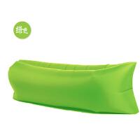 便携式充气沙发床户外懒人沙发口袋空气单人睡袋午休床沙滩睡垫新品