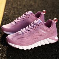金帅威女鞋跑步鞋夏季新款网面休闲鞋运动鞋轻便跑鞋