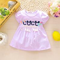 婴儿童短袖T恤夏装女宝宝秋衣上衣体恤夏季女童打底衫1-3岁公主