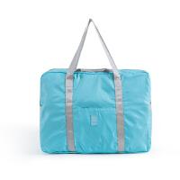 可折叠旅行包行李包袋女拉杆包手提轻便健身包短途旅游包待产包 大