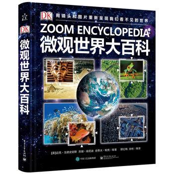 DK微观世界大百科(精装版) 站在不同的角度审视世界,用镜头和图片重新呈现我们看不见的世界。(小猛犸童书出品)