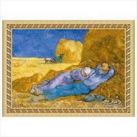 古部成人拼图 世界名画-午睡1000片平面拼图油画拼图