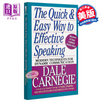 【中商原版】[英文原版]The Quick and Easy Way to Effective Speaking 语言