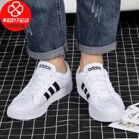 阿迪�_斯男鞋秋季新款低�头�布鞋�p便休�e鞋�\�有�板鞋AW3889