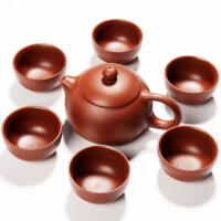 整套宜�d紫砂功夫茶具套�b 原�V紫泥西施�囟Y品定制陶瓷茶��