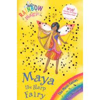 Rainbow Magic: The Music Fairies 68: Maya the Harp Fairy 彩虹仙子#68:音乐仙子9781408300312