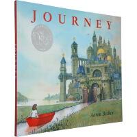 Journey 不可思议的旅程 三部曲 英文原版 凯迪克奖精装 艾伦贝克尔