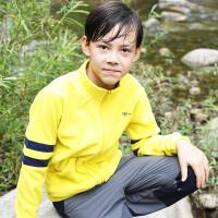探路者Toread kids 男童时尚户外运动系列摇粒绒外套