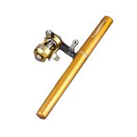 钢笔钓鱼竿1米1.4米1.6米海竿冰钓杆迷你袖珍杆套装渔具