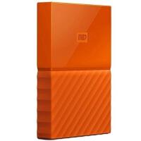 【当当正品店】西部数据(WD)移动硬盘 1T My Passport 移动硬盘 1TB 2.5英寸 活力橙 移动硬盘1