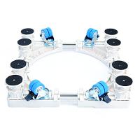 西门子专用滚筒洗衣机底座固定加高托架移动不锈钢洗碗机通用架子