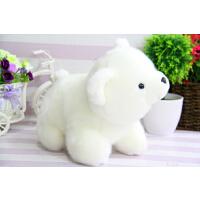 北极熊毛绒公仔玩具小号小白熊趴趴熊抱枕女孩儿童生日礼物玩具熊