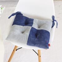 毛绒加厚学生坐垫椅子椅垫板凳坐垫冬季餐椅垫子榻榻米办公室坐垫