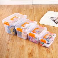 物有物语 车载储物箱 特大号塑料透明收纳箱杂物收纳盒车载储物箱卡通玩具手提整理箱
