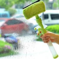 多功能可喷水窗户玻璃清洁器玻璃刮瓷砖清洁工具清洁刷擦窗器玻璃清洁器玻璃刮