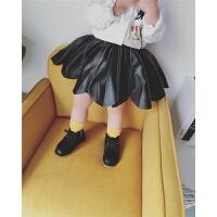 20直播女宝宝加绒短裙子0-5岁女童双层时尚伞裙秋冬季百搭款