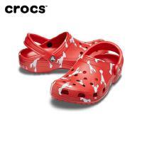 【秒杀价】Crocs洞洞鞋 2020春季新款小龙虾中国风凉鞋 度假风沙滩鞋|206375 经典度假风克骆格