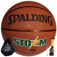 斯伯丁�@球74-413 PU皮NBA用球防滑耐磨��性