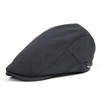 潮流休闲男式鸭舌帽 时尚黑色青年帽子 韩版男士贝雷帽帽子 新款百搭鸭舌帽