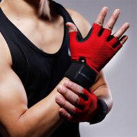 健身手套男女器械半指健美训练举重加压护腕锻炼哑铃运动防滑透气