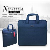 贝多美BDM-6686电脑包 手提袋 会议袋 公文包 多层设计 大容量手提包 蓝色