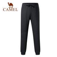 camel骆驼服饰秋冬新款情侣款运动休闲针织裤加绒防寒保暖长裤