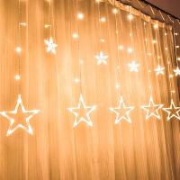 墙面装饰创意星星灯餐厅楼梯走廊墙壁挂件室内玄关房屋卧室装饰品