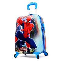儿童卡通拉杆箱18寸男女旅行行李箱 万向轮 培训班学校礼品箱 19寸升级版 蜘蛛侠