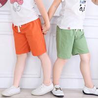 儿童短裤夏装童装宝宝中裤女童男童裤子五分裤热沙滩裤打底裤