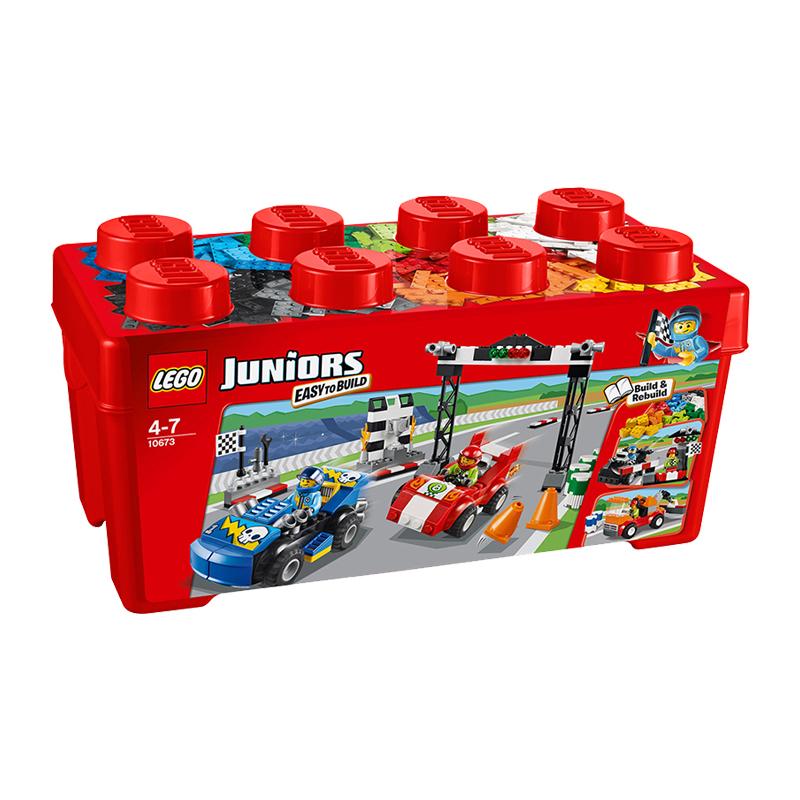 美国直邮 LEGO乐高 小拼砌师10673赛车拉力赛 350PCS 海外购 易拼砌 乐高小拼砌师
