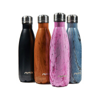 【今日领�宦�299减200】RAX不锈钢水壶 500ML户外运动壶 便携保温水壶旅游水杯