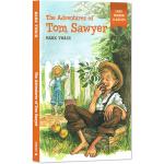 汤姆索亚历险记 英文原版 The Adventures of Tom Sawyer 易读名著经典 简写插画版世界文学名