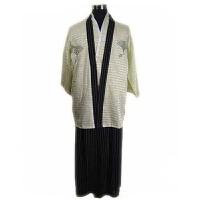 秋冬时尚舒适唐装长袖男式和服和服舞台表演服装写真日本女士正装日本武士服装 休闲衣裤