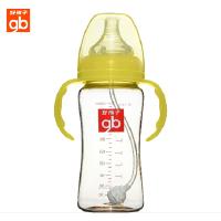 好孩子奶瓶 母乳实感宽口径握把吸管PPSU奶瓶300ml B80208 13
