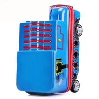 儿童拉杆箱可爱卡通旅行箱可坐骑行李箱男孩拖箱20寸密码箱 托马斯火车 20寸
