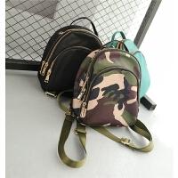 儿童迷彩书包韩版男童背包时尚幼儿园双肩包旅游包潮宝宝休闲背包