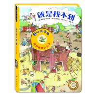 2-6岁德国洞洞情景认知游戏书:就是找不到1:七彩生活 尚童童书出品